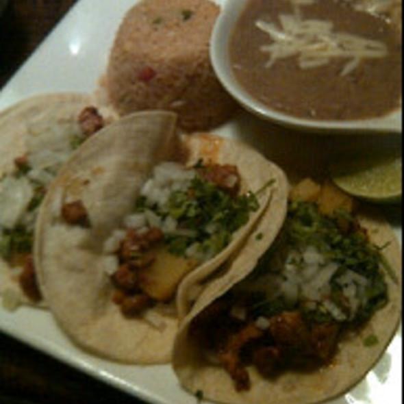 Tacos al Pastor @ El Patron Mexican Restaurant & Cantina
