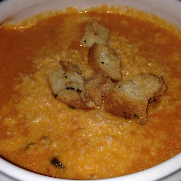 Tomato Basil Soup @ Osteria Cicchetti
