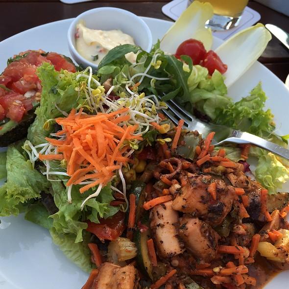 Octopus Salad With Avocado And Aiolo @ Oosten
