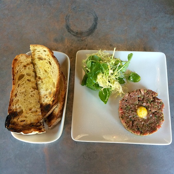 Beef Tartare With Grilled Bread