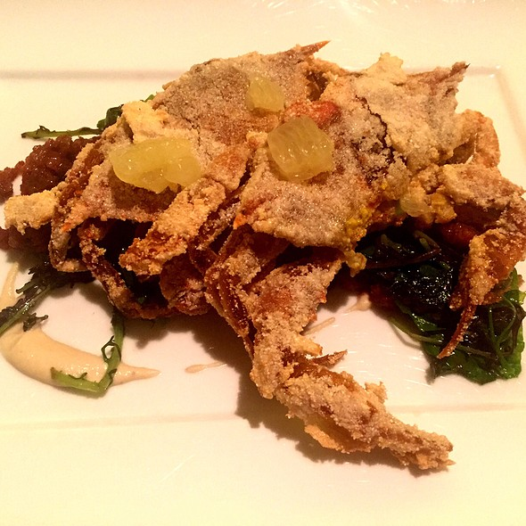 Soft Shell Crab @ Marea