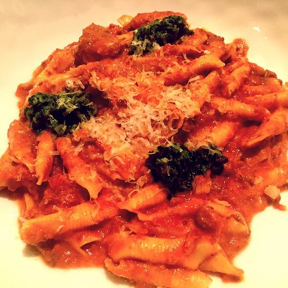 Garganelli With Tuna Ragu, Broccoli Pesto @ Marea