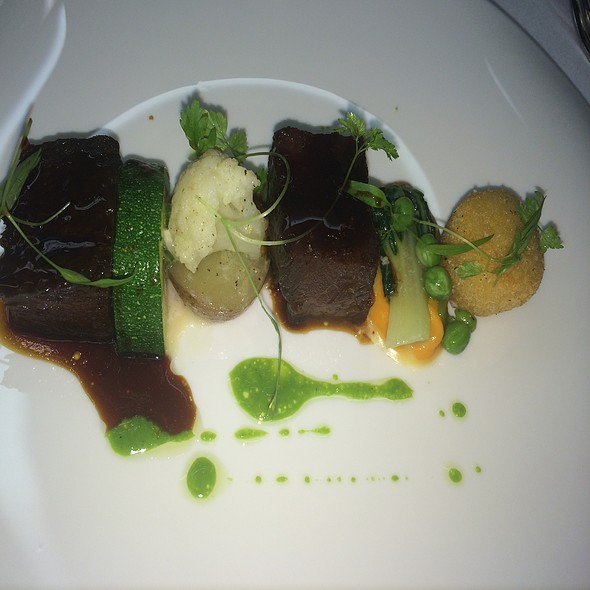 Beef Delight - Q Haute Cuisine (formerly La Caille), Calgary, AB
