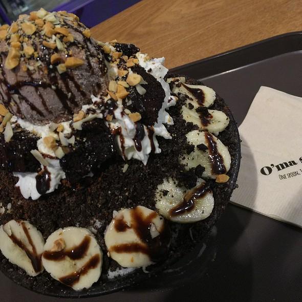 Choco Brownie Bingsu @ O'ma Spoon