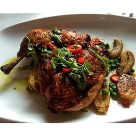 Wood-Fired Half Chicken