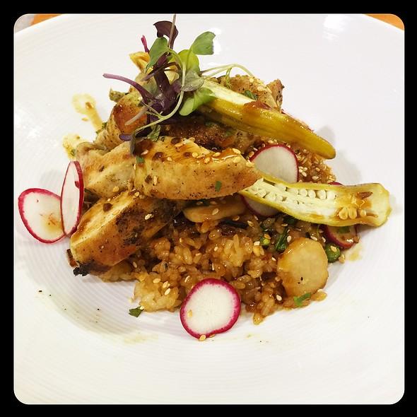 Kentuckyacki Spring Chicken Fried Rice @ One Flew South