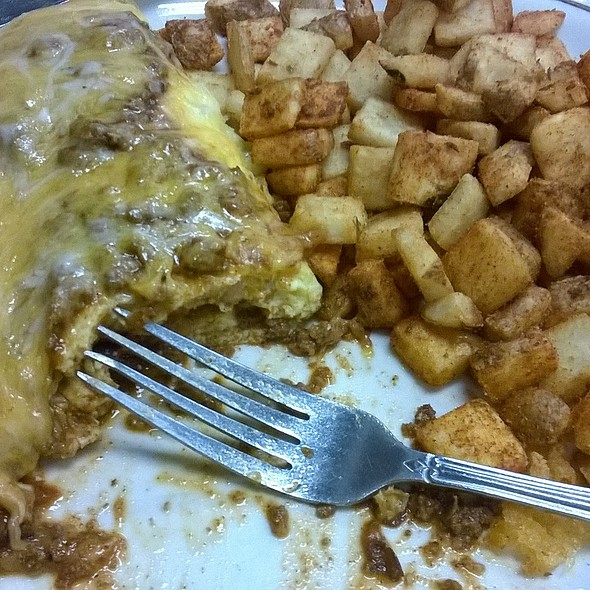 Chili Omelette @ Egg Works 3