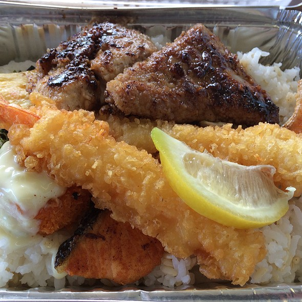 Seafood Bento @ St. Louis Drive In