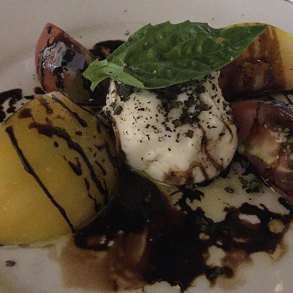 Burrata and Heirloom Tomato Salad - Mastro's Ocean Club - Las Vegas, Las Vegas, NV