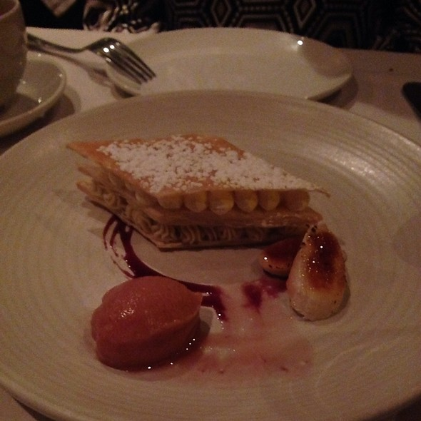 Banana Cream Tart - Casbah, Pittsburgh, PA