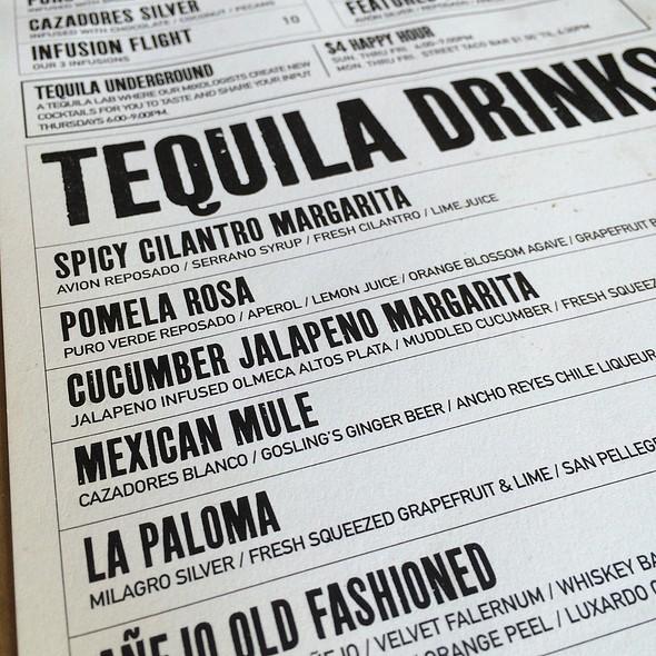 Spicy Cilantro Margarita @ TNT Tacos and Tequila