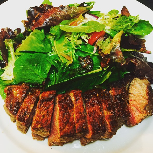 Ny Strip Steak With Mix Green Salad - Acacia of Lawrenceville, Lawrenceville, NJ