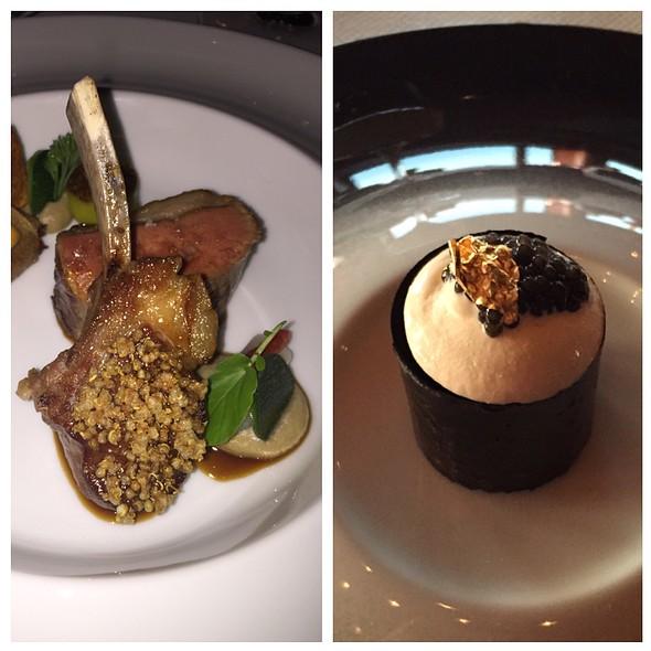 Sandle Of Dorset Lamb, King Crab @ Ciel Bleu Restaurant