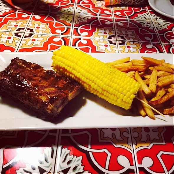 pork ribs @ Chilis
