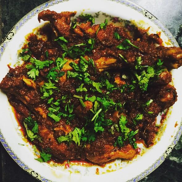 Bhut Jolokia Garlic Chicken @ Home