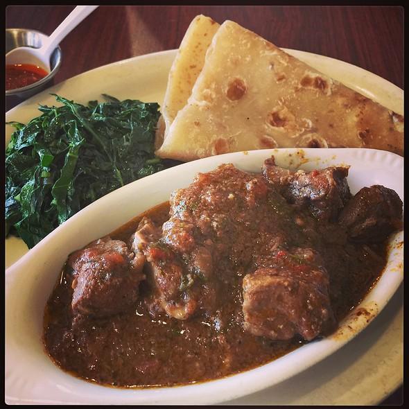 Mbuzi Mchuzi (Goat Stew)