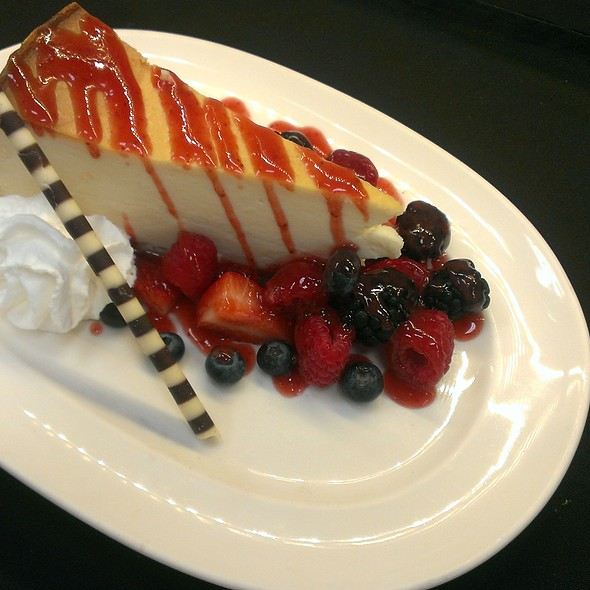 Cheesecake - The Broiler Steak & Seafood - Boulder Station Hotel & Casino, Las Vegas, NV