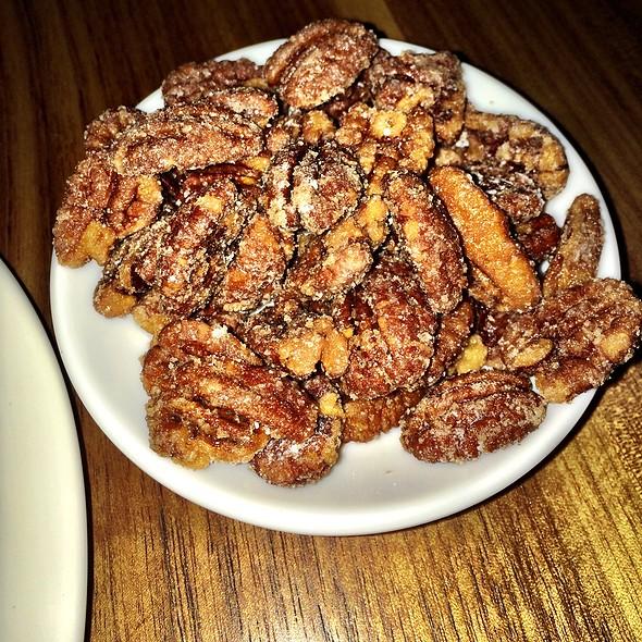 Salt & Vinegar Candied Pecans @ Apis