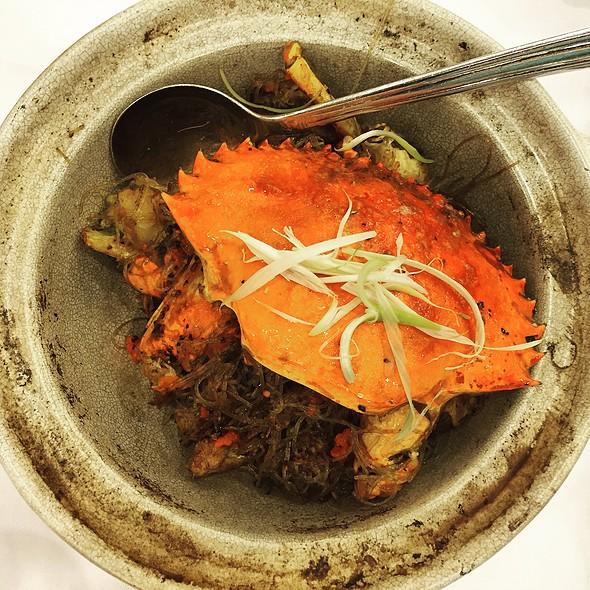 Clay Pot Crab Ver @ West Villa Restaurant 西苑酒家