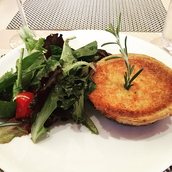Quiche Lorraine - FIG & OLIVE Meatpacking, New York, NY
