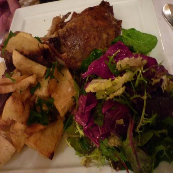 Confit De Canard And Ratatouille @ Chez Dumonet