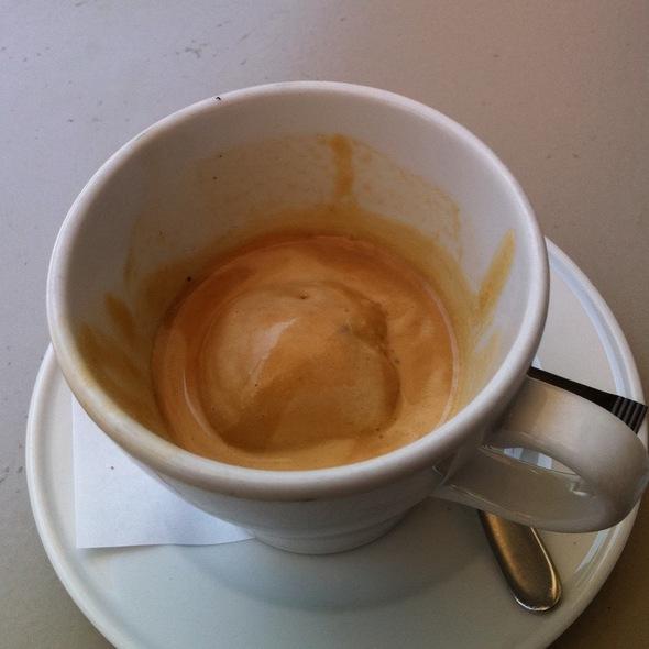 Espresso gelato @ hiltl