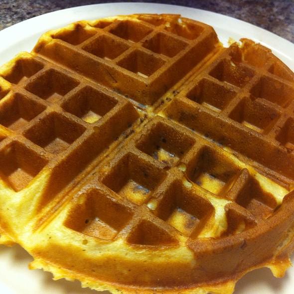 Pecan Waffle @ Delish Cafe