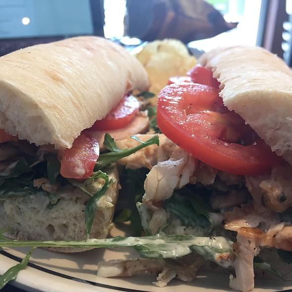 Chicken Pesto Sandwich @ Corner Bakery Cafe