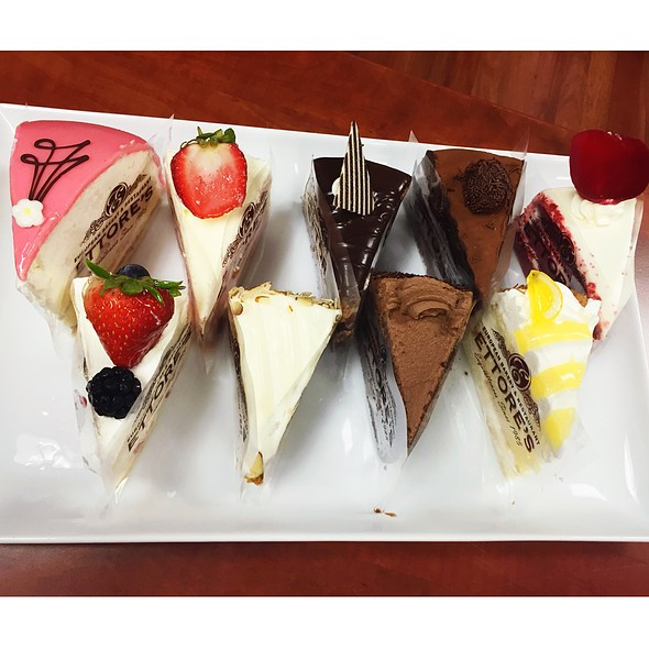 Cake Slice @ Ettore's Bakery