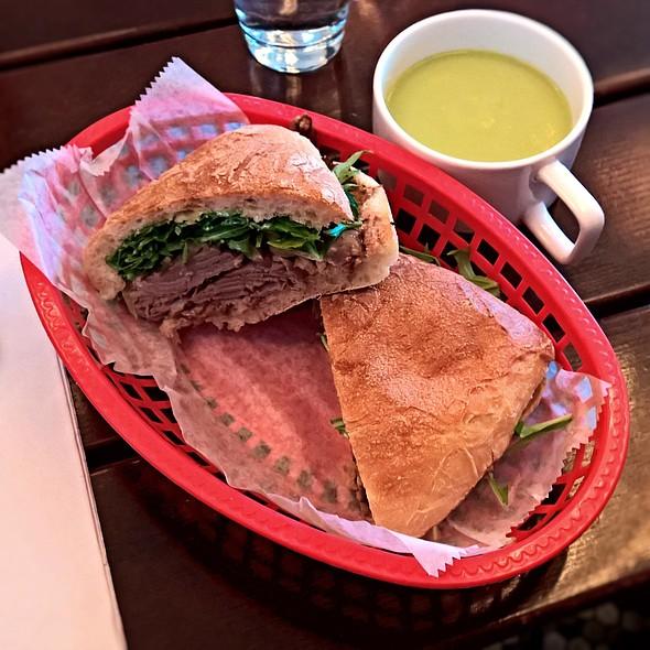 Duck Confit Sandwich @ Hi Hello