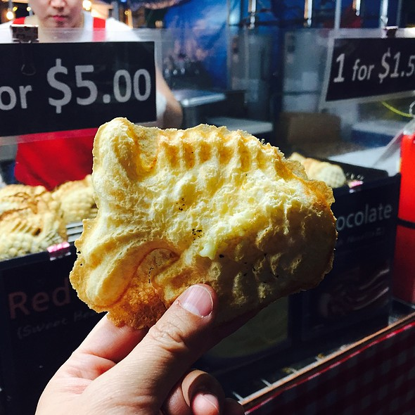 Bungeoppang @ The International Summer Night Market in Richmond