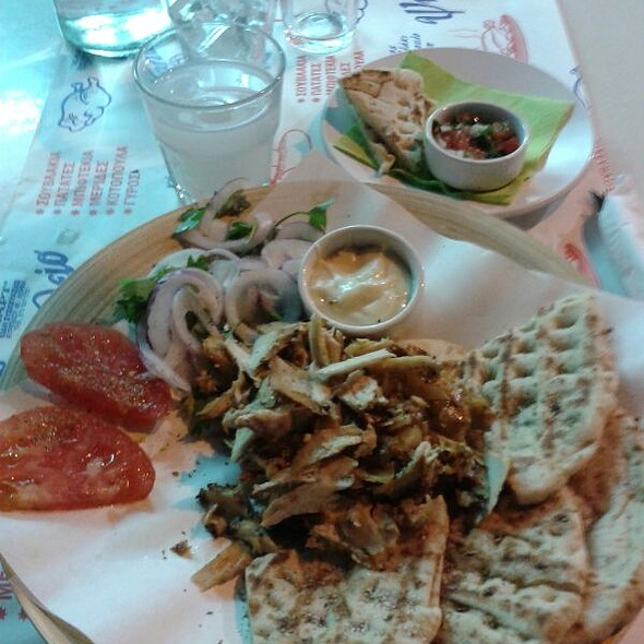 Gyros (Chicken Kebab) @ Quick Pitta