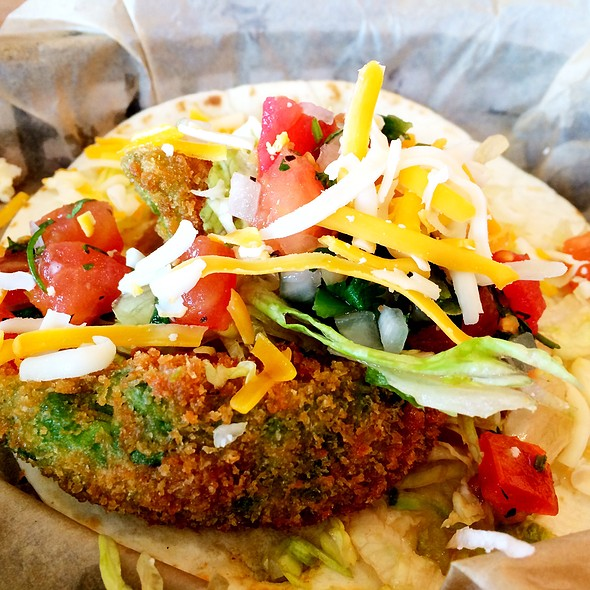 Fried Avocado Taco @ Torchy's Tacos