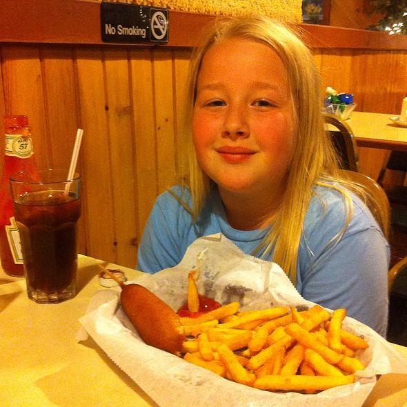 Corn Dog & Fries @ Main Street Cafe