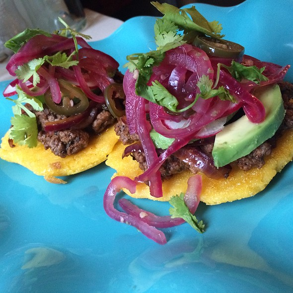 Beef AREPAS @ Cloisters Kitchen