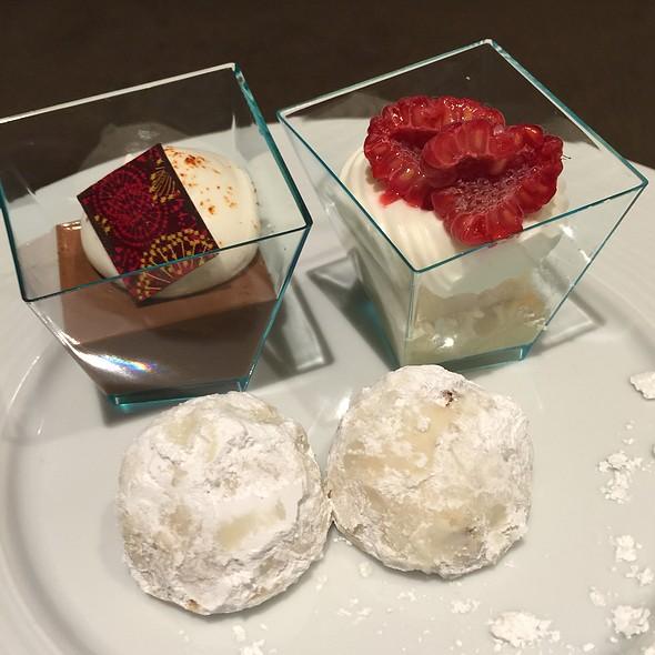 Dessert spread @ Trump International Hotel & Tower Chicago