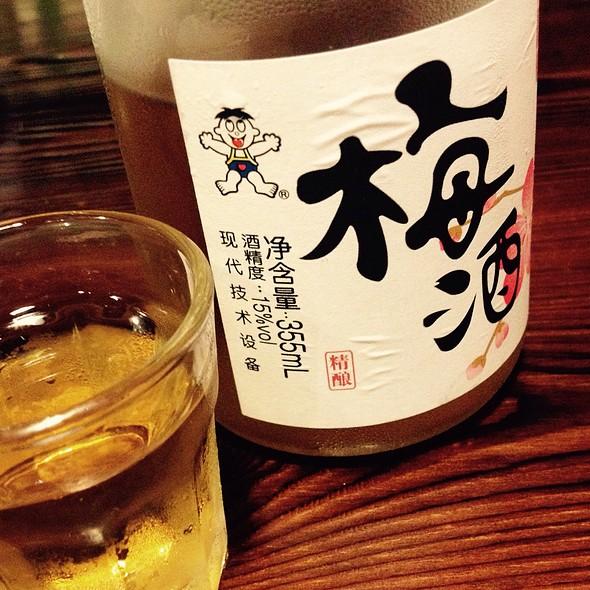Plum Wine @ Japanese Bar And Bbq