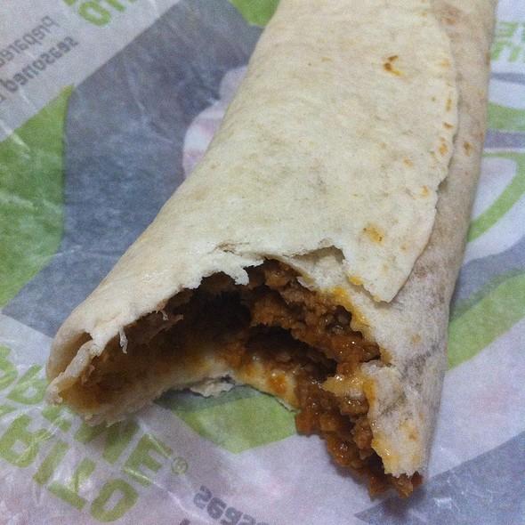 Double Beef Cheesy Burrito @ Taco Bell