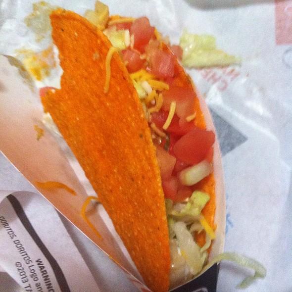 Nacho Cheese Doritos Locos Taco @ Taco Bell