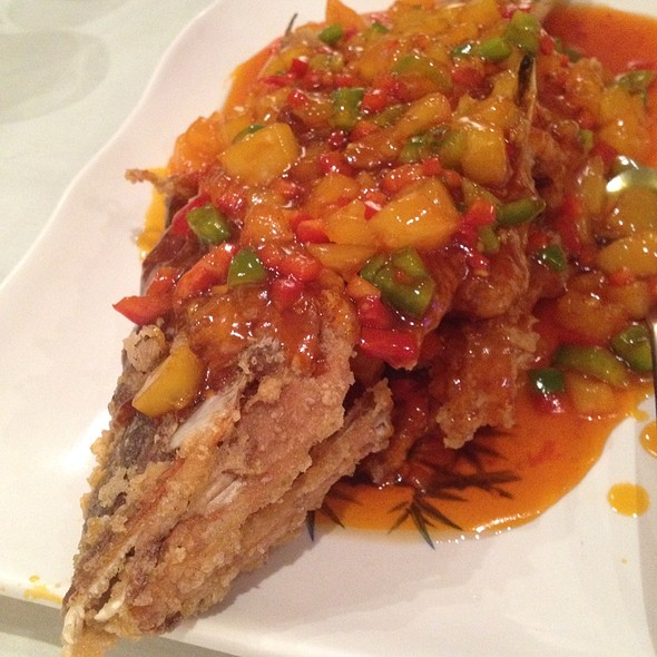 Sweet And Sour Hogfish @ Chef Chen