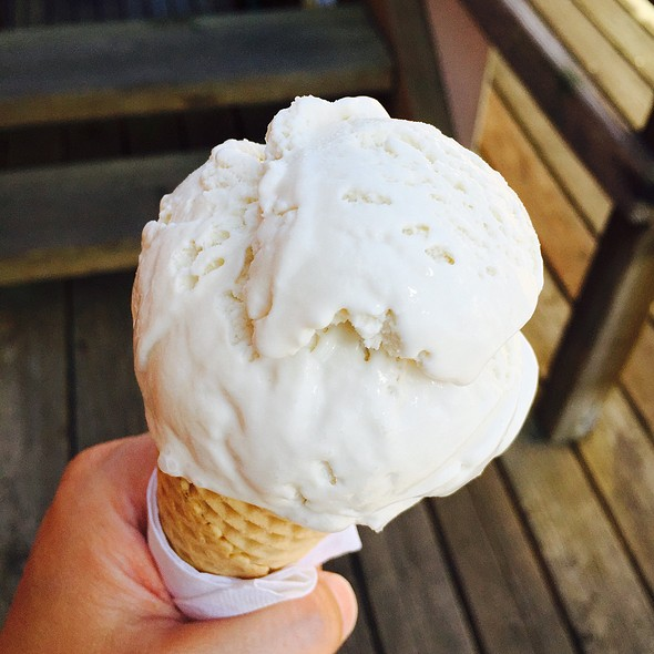 Honey Lavender Ice Cream @ Friday Harbor Ice Cream Co.