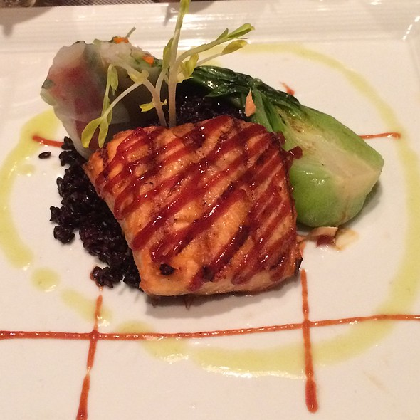 Grilled Scottish Salmon - PY Steakhouse, Tucson, AZ