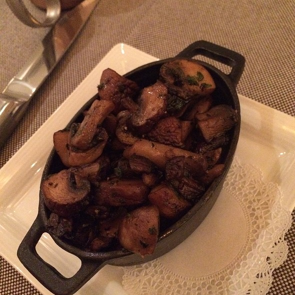 mushrooms - PY Steakhouse, Tucson, AZ
