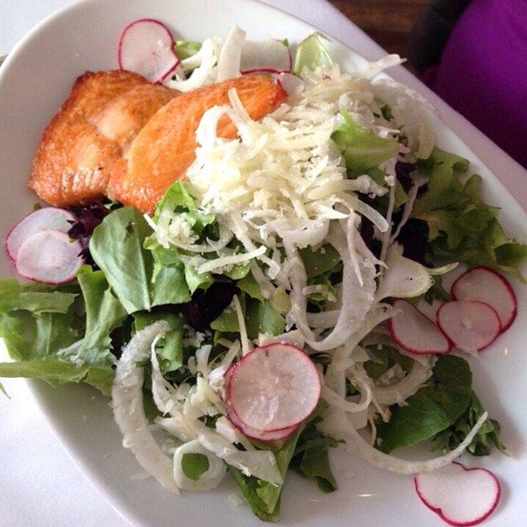 Salmon Fennel Salad - Bliss, Philadelphia, PA
