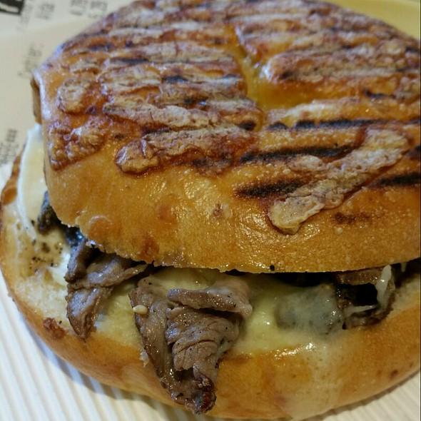 Steak and Egg Breakfast Sandwich @ Panera Bread
