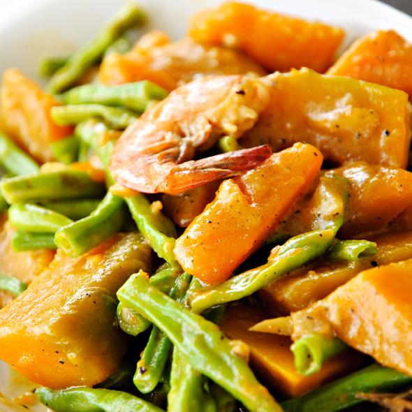 Asian Vegetable Cuisine in Coconut Milk @ Coconut Grove