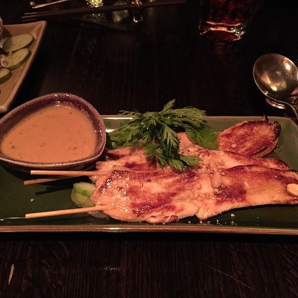 Satay Chicken with Peanut Sauce - Tao Uptown, New York, NY