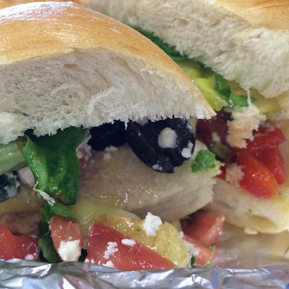 Mediterranean Sandwich @ Gio's Cafe and Deli