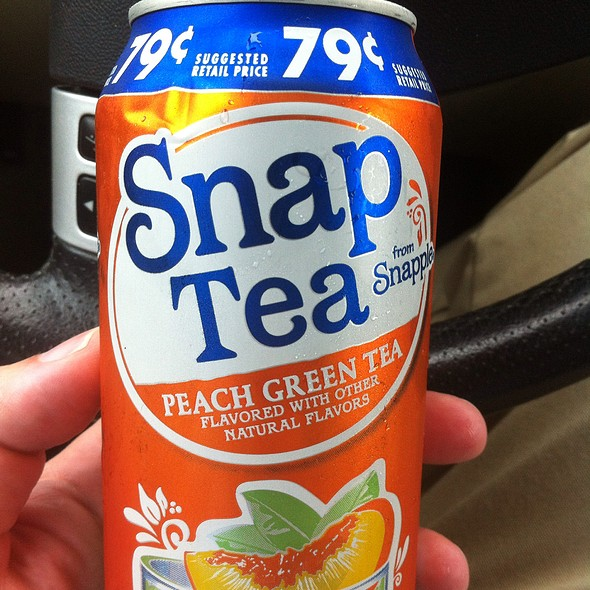 Snap Tea Peach Green Tea @ Casey's General Store