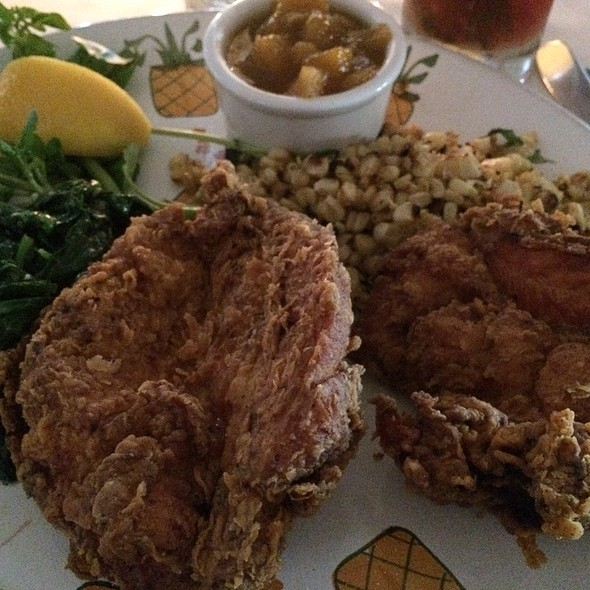 Ricky's Fried Chicken - Ivy at the Shore, Santa Monica, CA